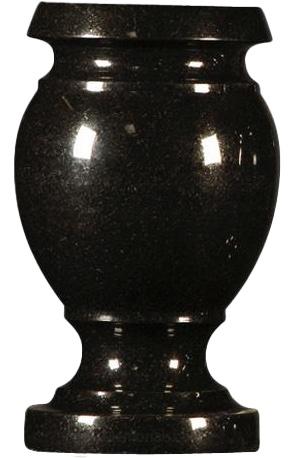 vase blackjet turned