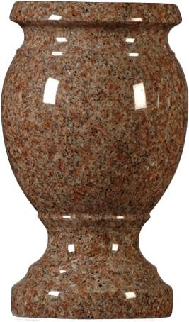 vase morningrose turned