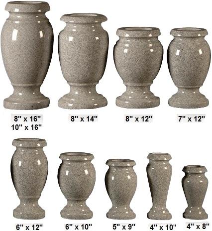 vase multisizes turned