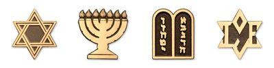 Jewish Bronze Emblems